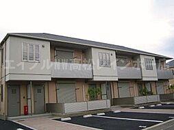 香川県高松市中間町の賃貸アパートの外観