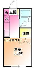 スターハイム鶴川[2階]の間取り