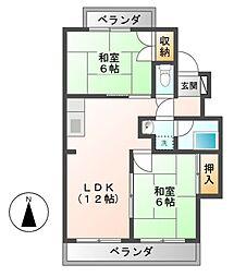 丹羽ビル[4階]の間取り