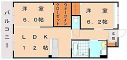 仮)日蒔野マンション[1階]の間取り