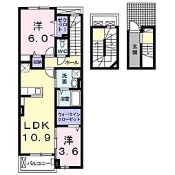 スナグレジデンスS−1[0300号室]の間取り