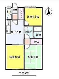 サニークレスト[2階]の間取り