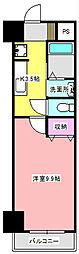 セントラルコート21[5階]の間取り