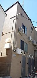 東京都大田区羽田6丁目の賃貸アパートの外観