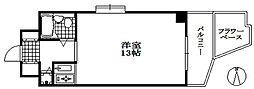 サンコート神戸[7階]の間取り