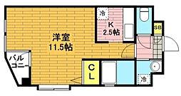 埼玉県戸田市上戸田3丁目の賃貸マンションの間取り