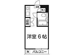 Iマンション多摩[1階]の間取り