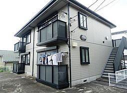 若竹ハイツA[1階]の外観