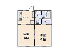 榎戸駅 3.6万円