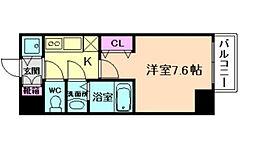 アクアプレイス福島EYE[4階]の間取り