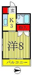 高木マンション[103号室]の間取り