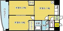 コートハウス大手町[9階]の間取り