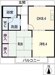 エクセル・E[2階]の間取り