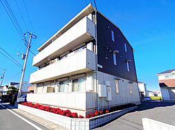 埼玉県三郷市中央5丁目の賃貸アパートの外観