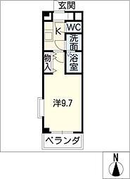 Daitetsu[2階]の間取り