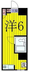 シティパル高田[1階]の間取り