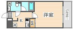 HF九大病院前レジデンス(エイチエフ九大病院前レジデンス)[3階]の間取り