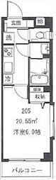 東京メトロ丸ノ内線 東高円寺駅 徒歩3分の賃貸マンション 2階1Kの間取り