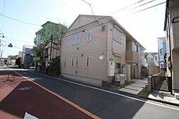 東京都中野区松が丘2丁目の賃貸アパートの外観