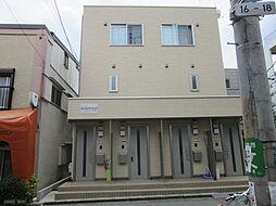 東京都渋谷区本町5丁目の賃貸アパートの外観