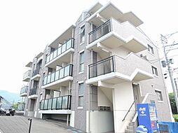 福岡県直方市湯野原2丁目の賃貸マンションの外観