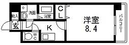 グランシス高井田[1203号室号室]の間取り