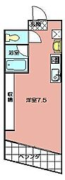 メゾン・ド・エール[4階]の間取り