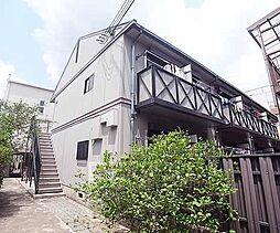 京都府京都市左京区一乗寺河原田町の賃貸アパートの外観