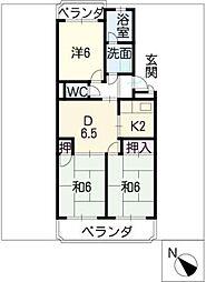 小笠原マンション[2階]の間取り