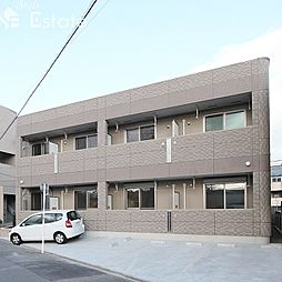 愛知県名古屋市南区加福本通3丁目の賃貸アパートの外観