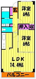 ステーションプラザII[5階]の間取り