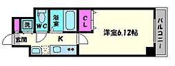 CHEZMOIHIROSE[8階]の間取り