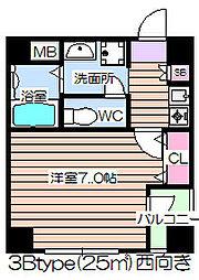 エレミーノ野田[3階]の間取り