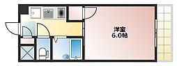 ビクトワール小阪[603号室]の間取り