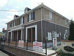 広島県福山市西深津町1の賃貸アパートの外観