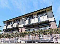 埼玉県さいたま市緑区大字三室の賃貸アパートの外観
