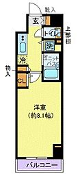 プロシード新横浜[5階]の間取り