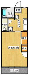 後藤マンション[105号室号室]の間取り