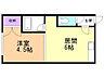 間取り,1DK,面積25.92m2,賃料3.3万円,バス くしろバス緑ケ岡通下車 徒歩5分,,北海道釧路市緑ケ岡2丁目