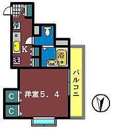 Camus FUNABASHI[702号室]の間取り
