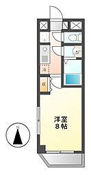 DREAM松原[3階]の間取り