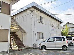 山梨県笛吹市石和町四日市場の賃貸アパートの外観