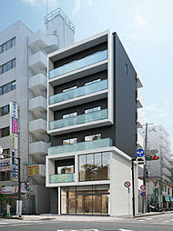 神奈川県川崎市幸区大宮町の賃貸マンションの外観