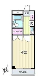 NPP神大寺[3階]の間取り