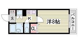 神戸多聞マンション[7階]の間取り