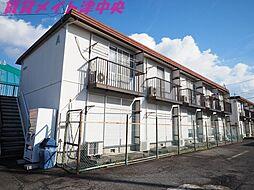 三重県津市栗真町屋町の賃貸アパートの外観