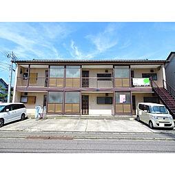 新潟県新潟市中央区山二ツ1丁目の賃貸アパートの外観