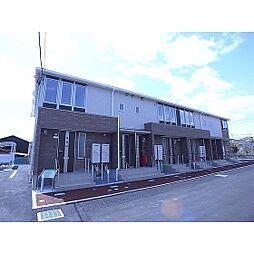 福島県郡山市富久山町久保田の賃貸アパートの外観