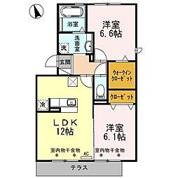 Felice Casa[1階]の間取り