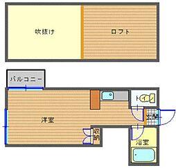 銭座町駅 3.7万円